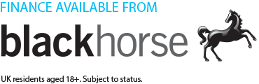 Finance available from blackhorse